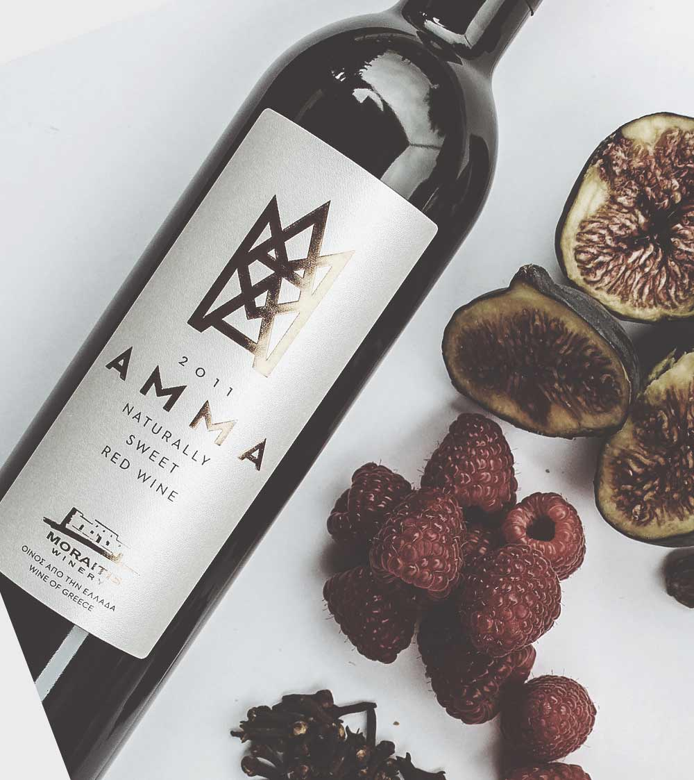 Naturally sweet red wine
